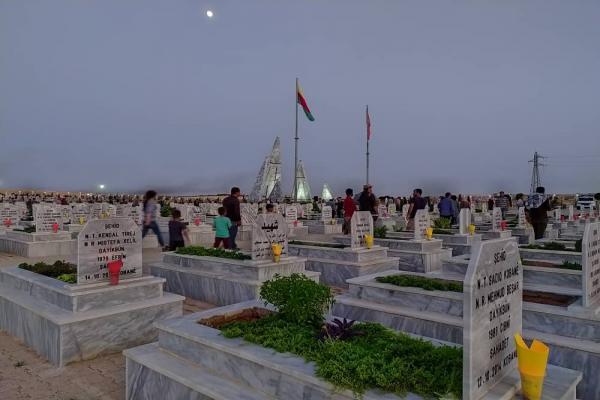 Kobanê'de Haziran ayı şehitleri anıldı