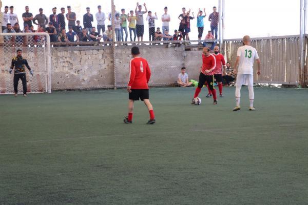 Şêxmeqsûd ve Eşrefiyê'de futbol turnuvası