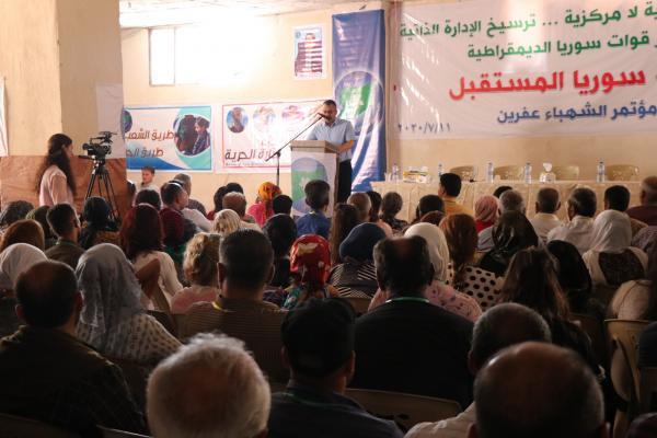 Suriye Gelecek Partisi Efrîn kongresini gerçekleştirdi