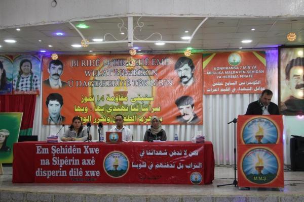 Şehit Aileleri Meclisi 7'nci Konferansını düzenledi