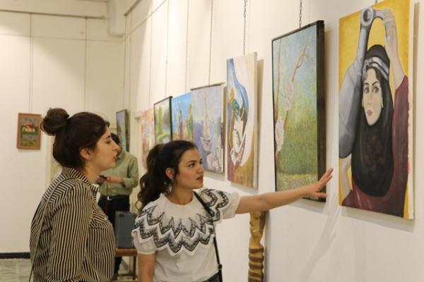 Qamişlo'da el sanatları sergisi