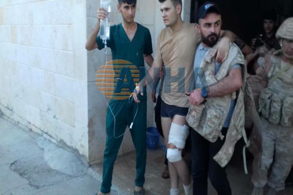 Dirbêsiyê'de SİHA saldırısı: 2 Rus askeri yaralandı