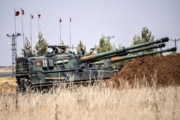 Türk devleti Suriye hükümet güçlerini bombaladı