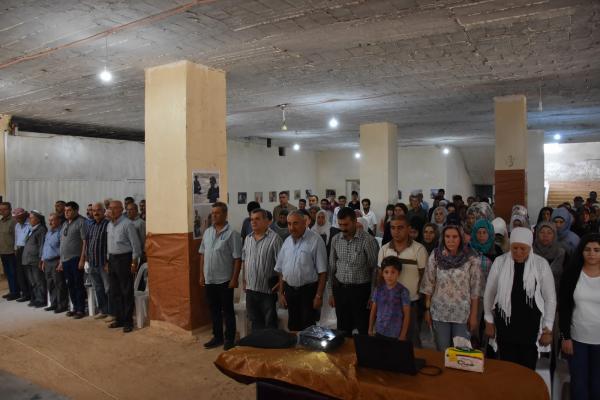 Şehba'da Şengal Katliamı'nı konu alan sergi açıldı