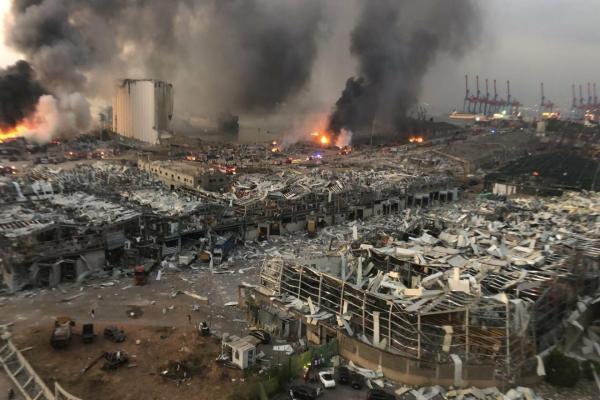 Beyrut felaket bölgesi ilan edildi