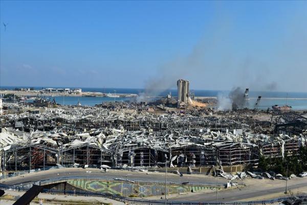 Beyrut'taki bilanço ağırlaştı: 137 ölü, 5 bin yaralı