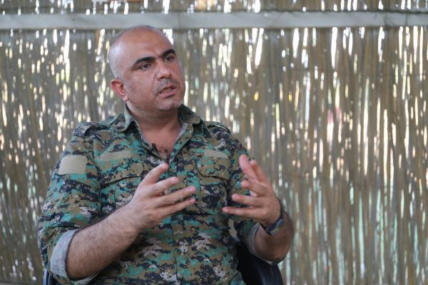 Dêrazor komutanı: Saldırılara karşı halkımızı savunmaya devam edeceğiz