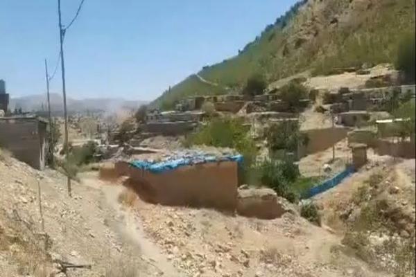 İşgalci Türk devleti Süleymaniye kırsalını yine bombaladı