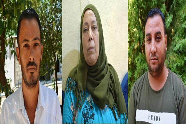 Arap şehit aileleri: QSD'nin yanındayız