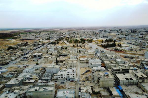 Kobanê'de bir kadın intihar etti