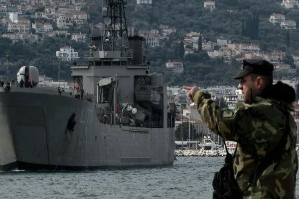 Yunan ordusu alarma geçti