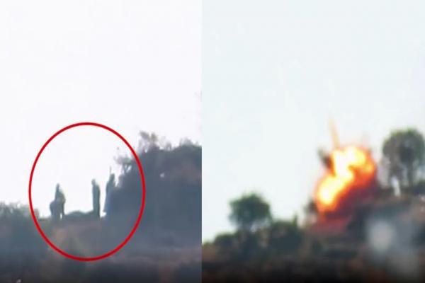 Gerilla TV, Heftanin'deki eylemin görüntüsünü yayınladı