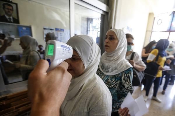 Suriye'de 67 kişiye daha Koronavirüs tanısı konuldu