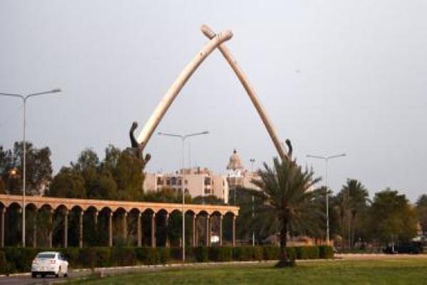 Bağdat'taki Yeşil Bölge yakınına roket düştü