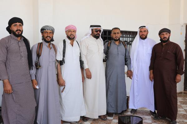 Igêdat kabilesi üyeleri: QSD güçlü bir toplumsal ağ kurdu