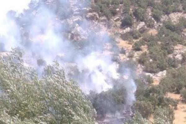 İşgalci Türk devleti Bamernê'de bir aracı bombaladı
