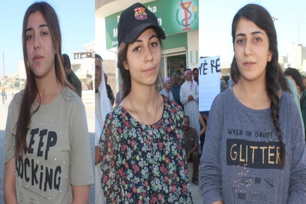 Genç Kadınlar: Kadın ve çocuklara dönük katliamlara 'hayır' diyoruz