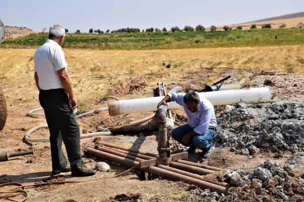 Elok su istasyonuna alternatif kuyular kazılıyor
