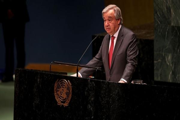 Guterres'ten küresel ateşkesi hayata geçirme çağrısı