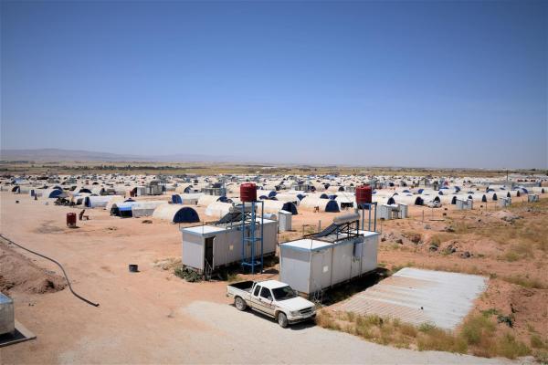 Waşûkanî Kampı'nda yaşam Kamp Meclisi'yle örgütleniyor