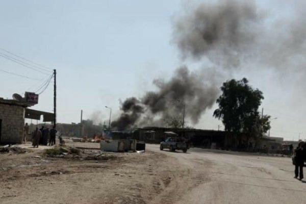 Til Helef'te bomba yüklü motosiklet infilak etti