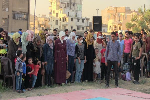 Reqa'da gençlik eylemleri sürüyor