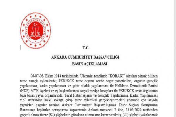HDP'li 7 milletvekili hakkında fezleke hazırlanacak