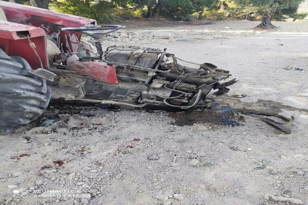 Efrîn'de traktör mayına bastı: 1 ölü, 1 yaralı