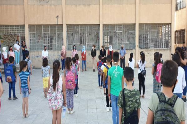 Kuzey ve Doğu Suriye'de ilk ders zili çaldı