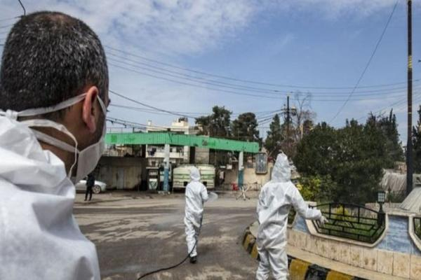 Şam hükümeti bölgelerinde 34 yeni vaka
