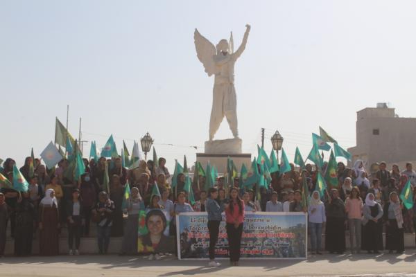 Kongreya Star Fırat Yönetimi siyasi soykırım operasyonlarını kınadı