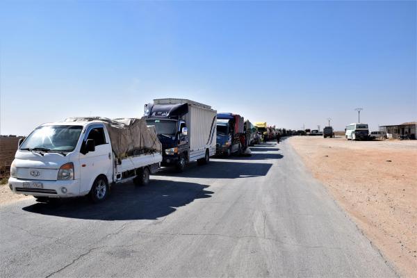 M-4 yolu yeniden açılıyor, siviller tedirgin