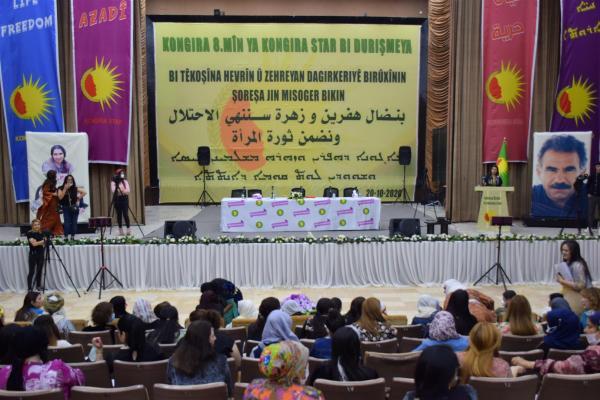 Kongreya Star 8'inci Genel Kongresi gerçekleşiyor
