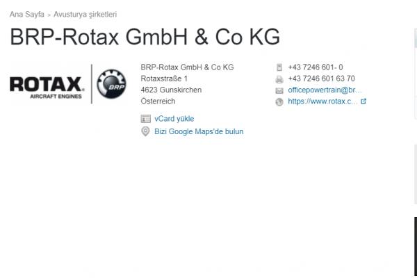 Rotax şirketi Türk SİHA'lara motor üretmeme kararı aldı