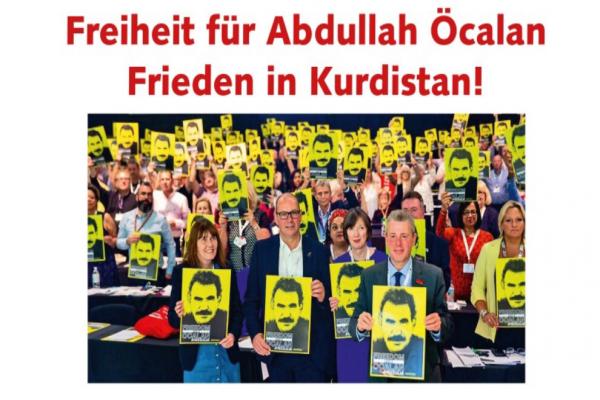 İngiliz Sendikalardan 'Öcalan'a özgürlük' çağrısı