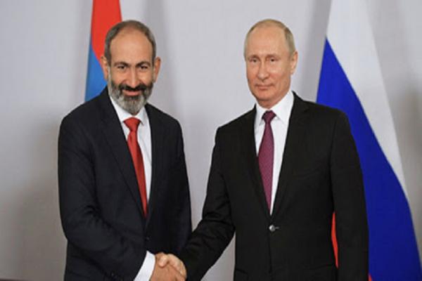 Paşinyan'dan Rusya'ya mektup