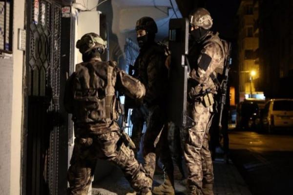 İstanbul'da çok sayıda kişi gözaltına alındı