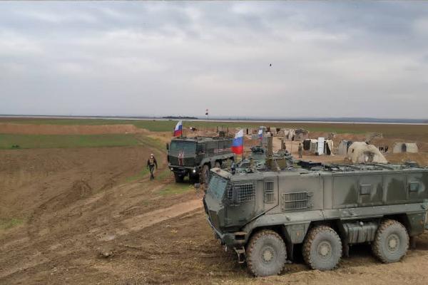 Kobanê'nin doğusunda ortak devriye