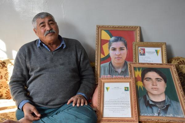 Şehit babası: PKK her yerde bölgeyi savunuyor
