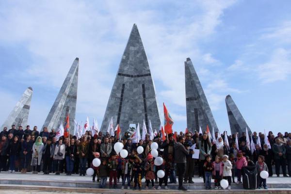 PYD, Kobanê'nin 6'ncı yıl dönümünü kutladı