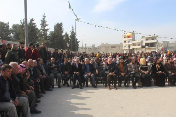 Kobanê'nin 6'ıncı kurtuluş yıldönümü kutlanıyor