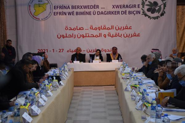 MSD Şehba'da panel düzenledi