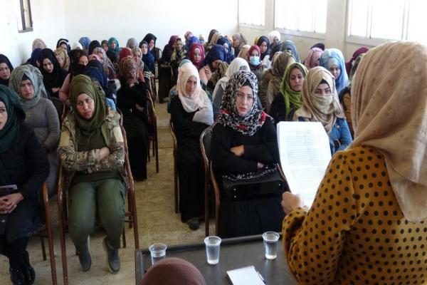 'Tüm kadınlar özgürleşene dek mücadeleye devam edeceğiz'