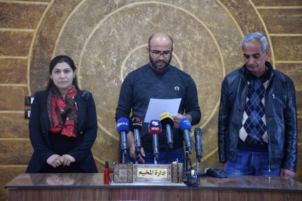 Hol Kampı yönetimi kampta çıkan yangının nedenlerini açıkladı