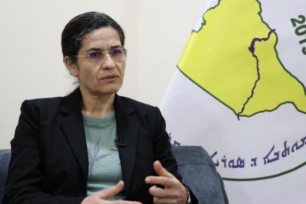 İlham Ehmed: Zafer bayrağı kadınların elinde