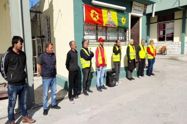 Lavrio'daki açlık grevini 21'inci grup devraldı