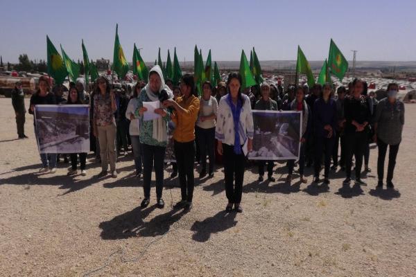 Kongreya Star, işgal altındaki Efrîn'de Êzidîlere dönük dini baskıları kınadı