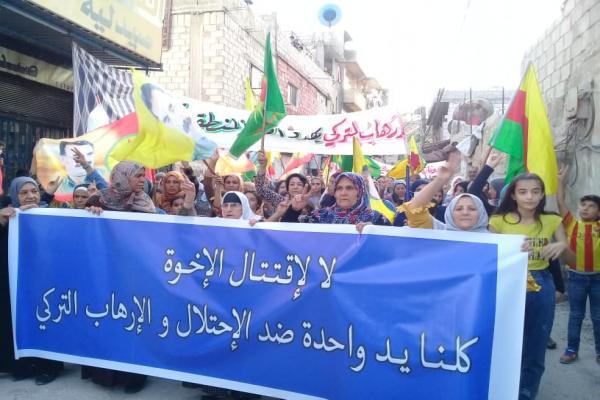 Zoravalılar, Türk devletinin Başûrê Kurdistan'a yönelik saldırılarını protesto etti
