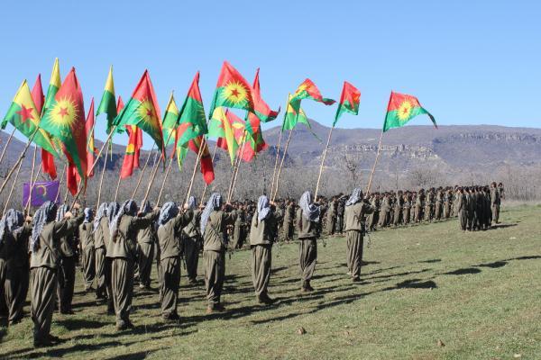 YJA Star Merkez Karargah Komutanlığı Gever eyleminde yer alan gerillaları kutladı