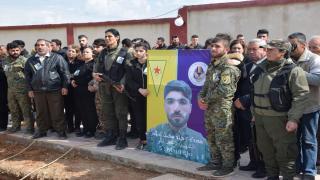 Süryani Askeri Meclisi şehidi Hesekê'de uğurlandı